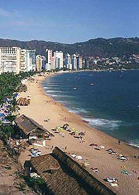 Acapulco bay and beaches