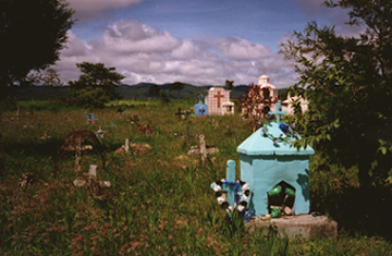 Mexico Country cemetery