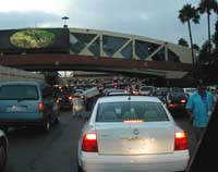 Border crossing in Tijuana