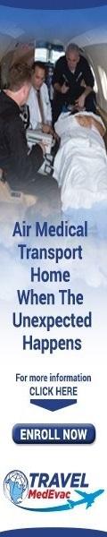 Air medical transport - Travel MedEvac