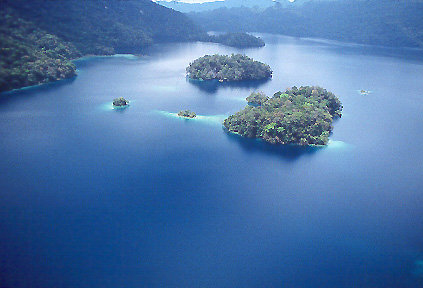 Miramar Lake - Lacandon Rain Forest - Chiapas, Mexico.