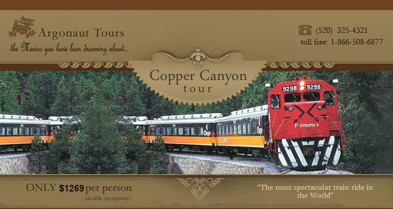 Copper Canyon Tours Copper Canyon Train Argonaut Tours