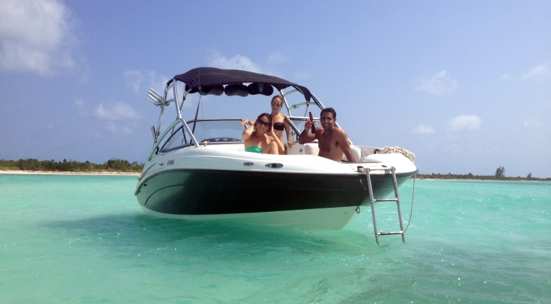 Boat rentals and charters on Cozumel Island