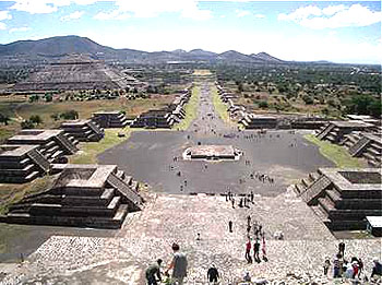 Teotihuacan World Map.Teotihuacan The City Of The Gods Mexonline Com History Directory