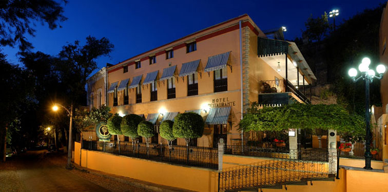 Guanajuato hotels resorts quinta las acacias bed and for Small boutique hotels