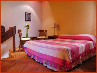 Oaxaca hoteles resorts departamentos bungalows casa for Losetas para recamaras
