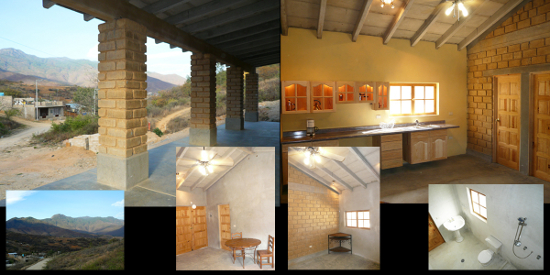 2 bedroom home for sale, with view of Oaxaca below