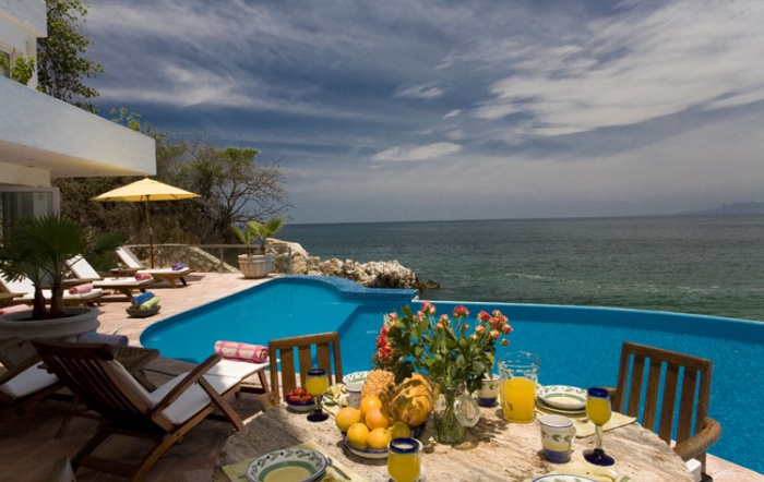 Oceanview pool - Puerto Vallarta