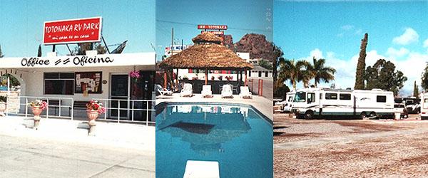 Guaymas San Carlos Rv Parks Totonaka Rv Park Amp Motel